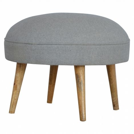 Nordic Style Round Footstool
