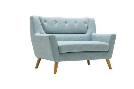 Lambeth Duck Egg Blue 2 Seater Sofa