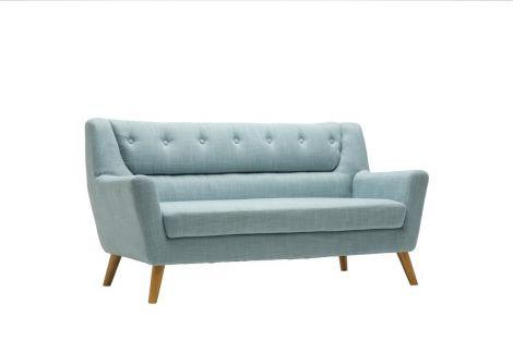 Lambeth Duck Egg Blue 3 Seater Sofa